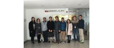 Zhangjiang Air Service Center's visit, exchange and cooperation